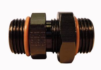 Fragola Performance Systems - Fragola Performance Systems #10 ORB x #8 ORB Adapter Fitting  Black