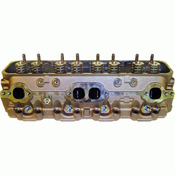 GM Performance Parts - GM Performance Parts SBC Vortec Cylinder Head 225cc Assembled