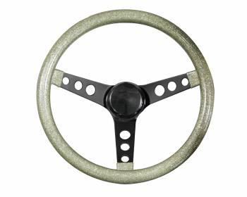 Grant Products - Grant Steering Wheels Steering Wheel Mtl Flake Silver /Spoke Blk 13.5