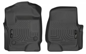Husky Liners - Husky Liners 17-   Ford F250 Front Floor Liners Black