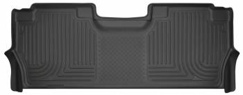 Husky Liners - Husky Liners 17-   Ford F250 Rear Floor Liners Black