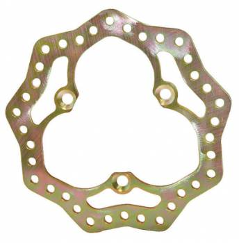 King Racing Products - King Racing Products Brake Rotor Steel LF 10.75 Diameter Scalloped