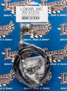 Lokar - Lokar Universal Throttle Cable Chrysler 727 Black