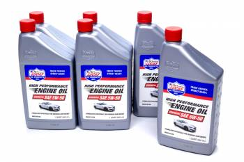 Lucas Oil Products - Lucas Oil Products Synthetic SAE 5w50 Oil Case 6 x 1 Quart