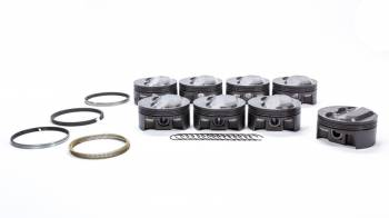 Mahle Motorsports - Mahle Motorsports SBC PowerPak Domed Piston Set 4.030 Bore