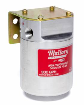 Mallory Ignition - Mallory Ignition 140 Series Fuel Filter