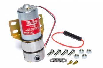 Mallory Ignition - Mallory Ignition 110 Gph Comp Fuel Pump