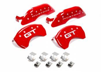 MGP Caliper Covers - MGP Caliper Covers 15-   Mustang Caliper Covers Red