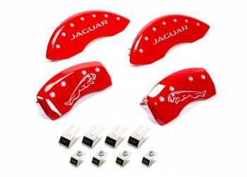 MGP Caliper Covers - MGP Caliper Covers 10-   Jaguar Caliper Covers Red