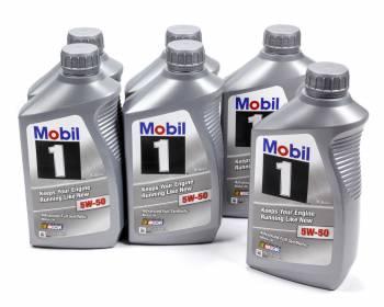 Mobil 1 - Mobil 1 5w50 Synthetic Oil Case 6x1 Qt. FS X2