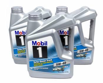 Mobil 1 - Mobil 1 5w40 Turbo Diesel Oil Case 3x1 Gallon