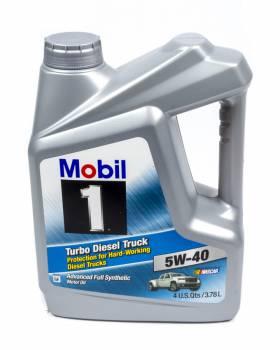 Mobil 1 - Mobil 1 5w40 Turbo Diesel Oil 1 Gallon