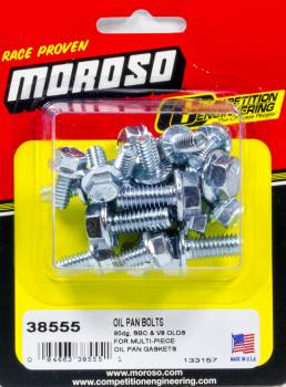 Moroso Performance Products - Moroso Performance Products SBC Oil Pan Bolt Kit