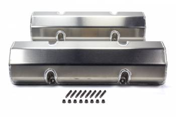 Moroso Performance Products - Moroso Performance Products SBC Billet Rail Valve Covers w/o Logo