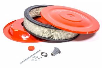 Mr. Gasket - Mr. Gasket Easy Flow Air Cleaner 14 x 3 Orange