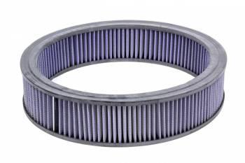 Mr. Gasket - Mr. Gasket Air Filter Element 14x3 Blue Washable