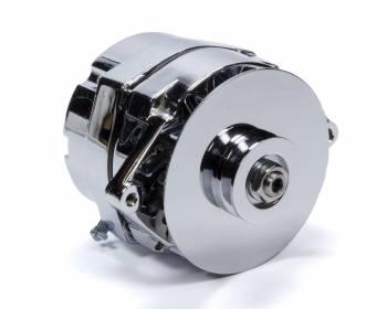 Mr. Gasket - Mr. Gasket Alternator GM 140 amp V-Belt Chrome