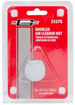 Mr. Gasket - Mr. Gasket Air Cleaner Nut - Chrome Steel Knurl 1/4-20