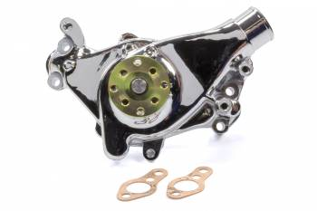 Mr. Gasket - Mr. Gasket SBC Long Water Pump Alm. w/Chrome Finish