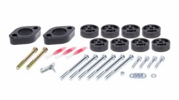 "Performance Accessories - Performance Accessories 12-   Jeep Wrangler JK/JKU 1"" Body Lift Kit"