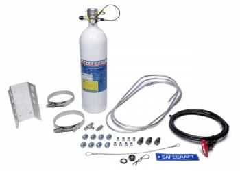 Safecraft Safety Equipment - Safecraft Model LT Fire System - 5 lb - Novec 1230 - Pull Cable - SFI Circle Track