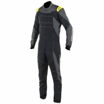 Alpinestars GP Race Suit?- Black/Anthracite/Fluo Yellow - 3355117-1155