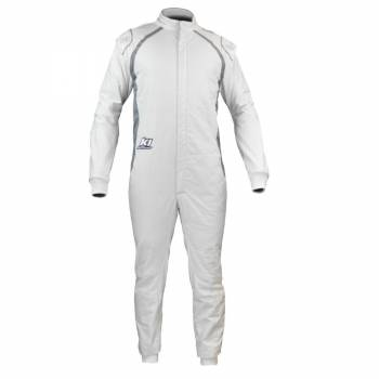 K1 RaceGear - K1 FLEX Suit - White/Grey