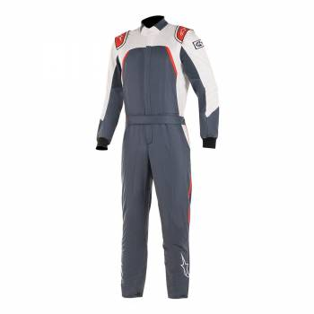 Alpinestars GP Pro Comp Suit - Asphalt / White / Red - Front