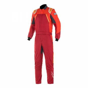 Alpinestars GP Pro Comp Suit - Scarlet / Red / Orange Flo - Front