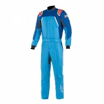 Alpinestars GP Pro Comp Suit - Cobalt Blue / Royal Blue / Red - Front
