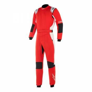Alpinestars GP Tech V2 Suit - Red / White - Front
