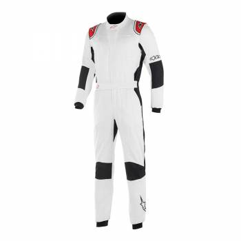 Alpinestars GP Tech V2 Suit - White / Red - Front