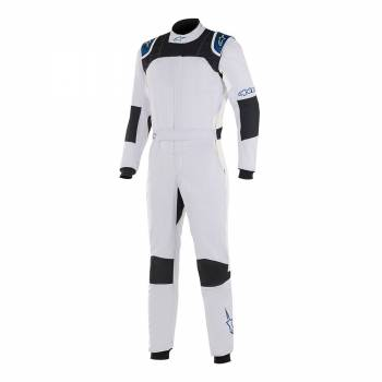 Alpinestars GP Tech V2 Suit - Silver / Blue