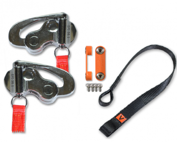 Hans Performance Products - Hans  Device Quick Click Sliding Tether Upgrade Kit