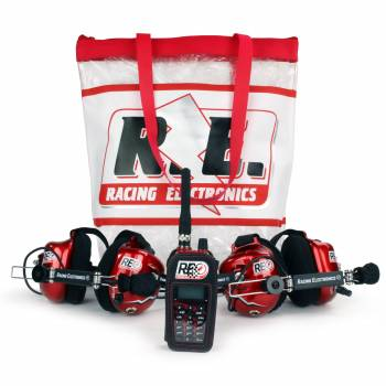 Racing Electronics RE3000 Deluxe Gemini 5 Intercom System : RE3000-GEM5-PKG