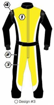 K1 RaceGear - K1 Race Gear Custom Suit - Design #3