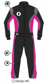 K1 RaceGear - K1 Race Gear Custom Suit - Design #5