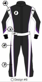 K1 RaceGear - K1 Race Gear Custom Suit - Design #6