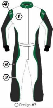 K1 RaceGear - K1 Race Gear Custom Suit - Design #7