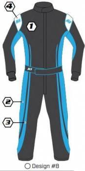 K1 RaceGear - K1 Race Gear Custom Suit - Design #8
