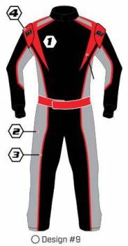 K1 RaceGear - K1 Race Gear Custom Suit - Design #9