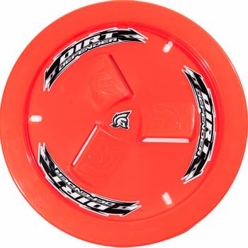 Dirt Defender Racing Products - Dirt Defender Racing Products Wheel Cover Neon Red Vented