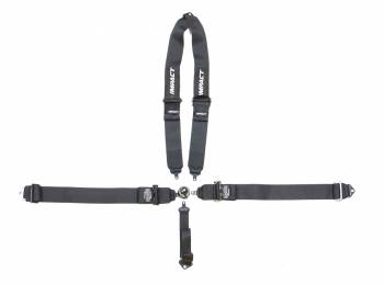"""Impact - Impact 16.1 Racer Series Camlock Restraints - 5 Point Harness - 3"""" - Pull-Down Lap"""