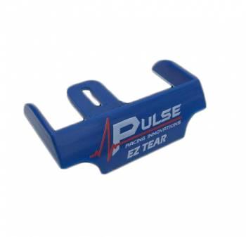 Pulse Racing Innovations - Pulse EZ Tear Tearoff Ramp - Shield Mounted - Blue
