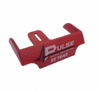 Pulse Racing Innovations - Pulse EZ Tear Tearoff Ramp - Shield Mounted - Red