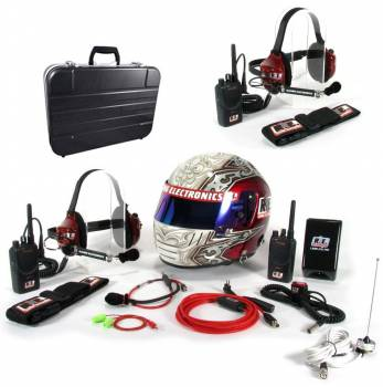 Racing Electronics - Racing Electronics 3 Man Basic Motorola Race Communications System