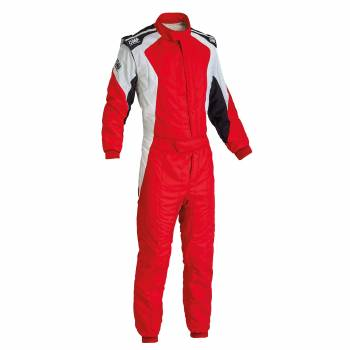 OMP Racing - OMP First Evo Suit - Red/White - 60