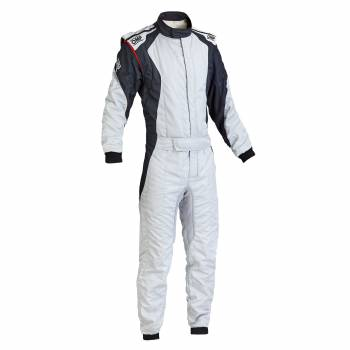 OMP Racing - OMP First Evo Suit - Silver/ Black - 52