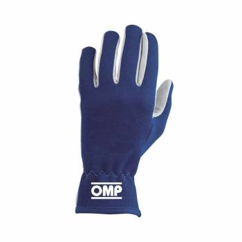 OMP Racing - OMP Rally Gloves Blue - Large