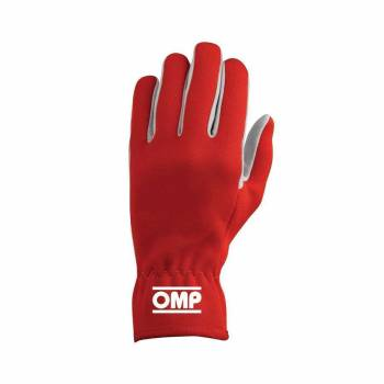 OMP Racing - OMP Rally Gloves Red - Small